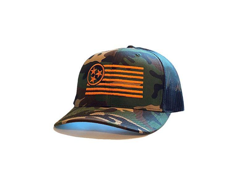 Camo Trucker Hat - TriStar Hats Co