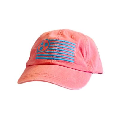 Coral Unstructured Hat - TriStar Hats Co