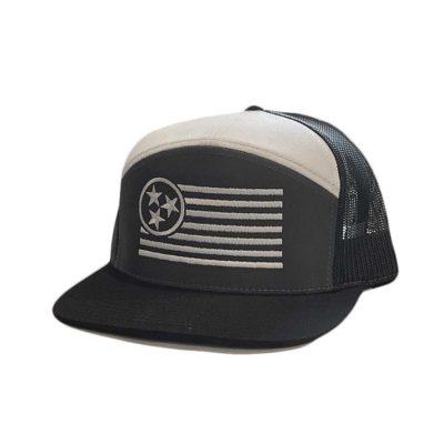 Onyx 7 Panel Trucker Hat - TriStar Hats Co