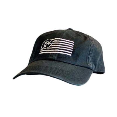 Raven Unstructured Hat - TriStar Hats Co.