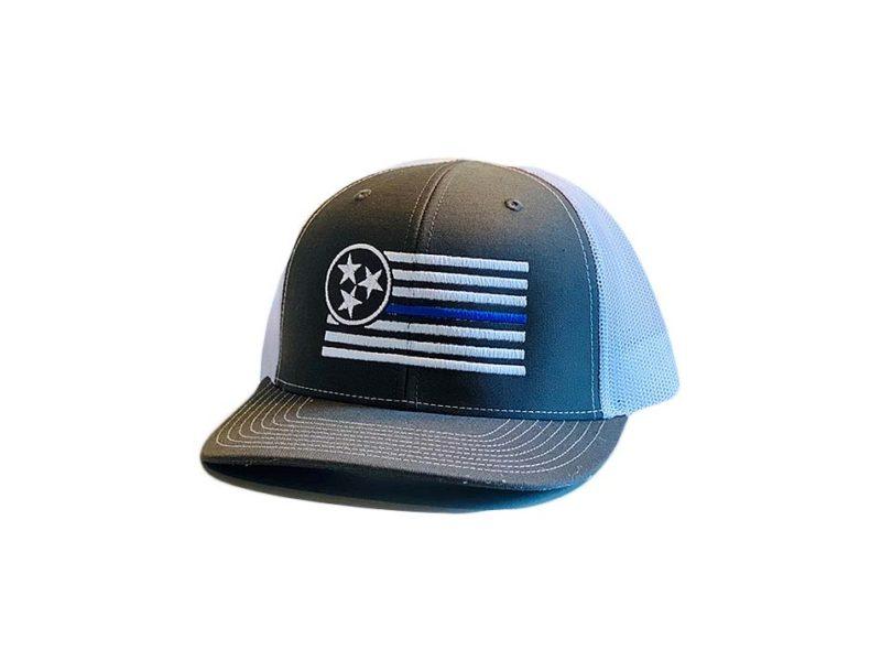 Thin Blue Line Trucker - TriStar Hats Co