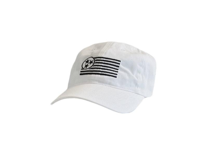 Whitewash TN Unstructured Hat - TriStar Hats Co.